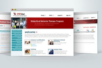 Dialectical Behavior Therapy Program website
